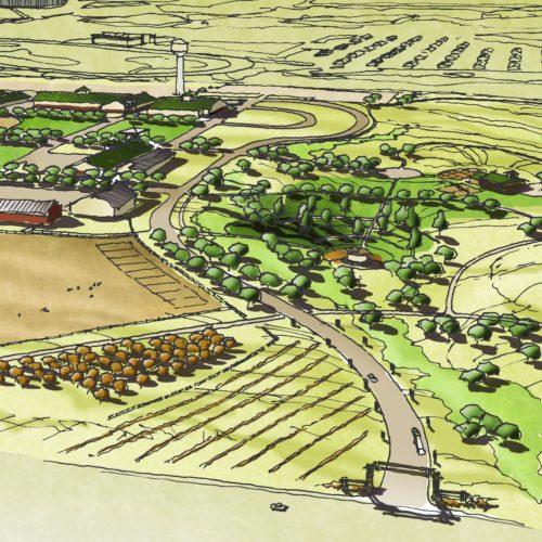 Arapahoe County Fairgrounds - Birds-eye-perspective