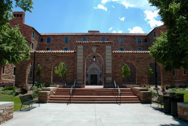 CU Baker Hall - Main Entry Renovation