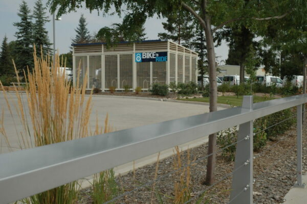 Fort Collins South Transit Center - Bike n Ride