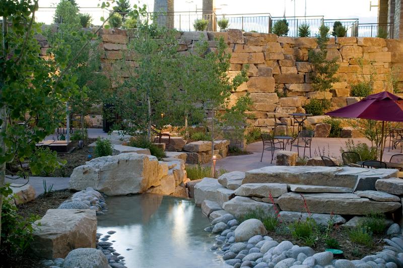 McKee Cancer Center - Therapeutic Healing Garden