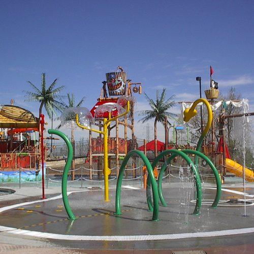 Pirates Cove Water Park - Spray Ground