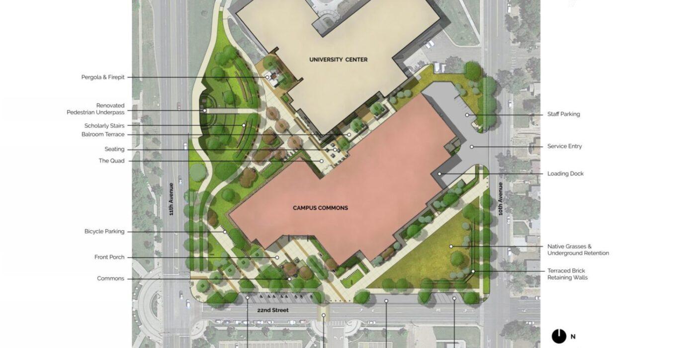 UNC Commons Master Plan