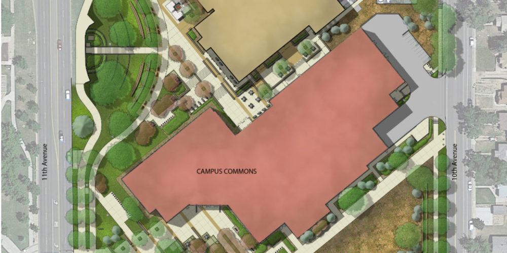 UNC Commons Plan Rendering