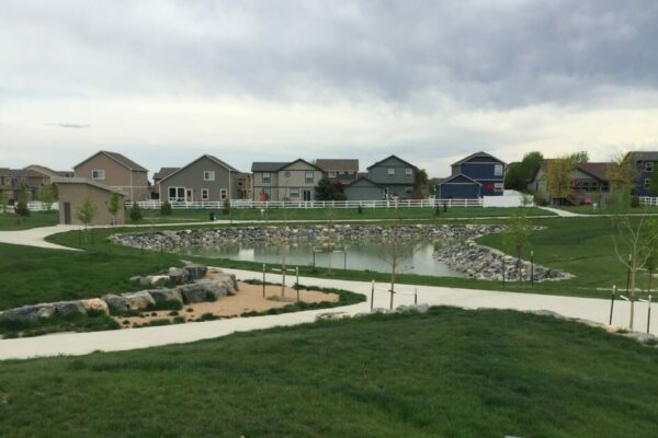 Crescent Park Pond