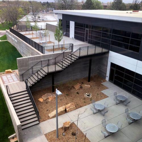 CSU Nancy Richardson Design Center Birds Eye