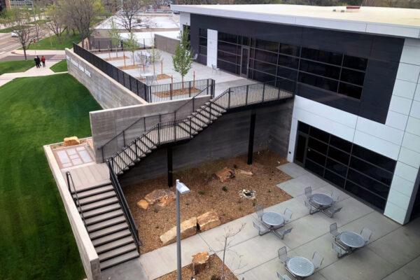 CSU Nancy Richardson Design Center Elevated