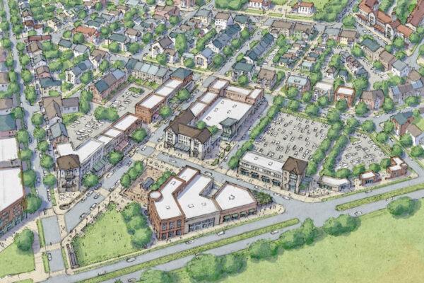 Montava Town Center - Conceptual Rendering