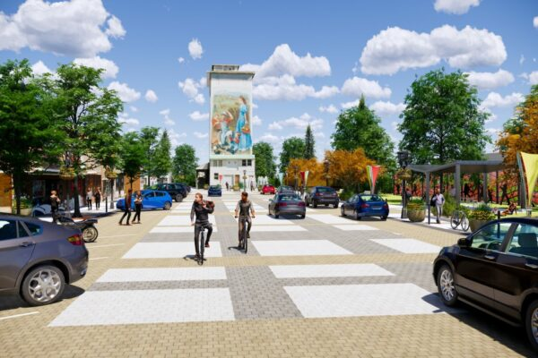 Berthoud Ave Corridor Plan Rendering