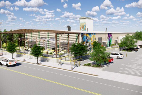 Berthoud Mountain Ave. Facade Concept