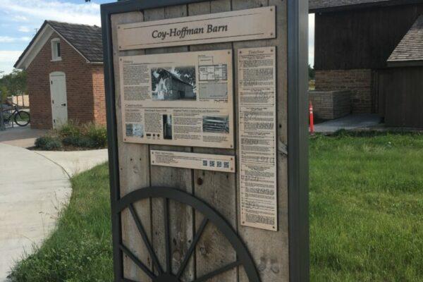 Coy Hoffman Historic Preservation - Interpretive Sign