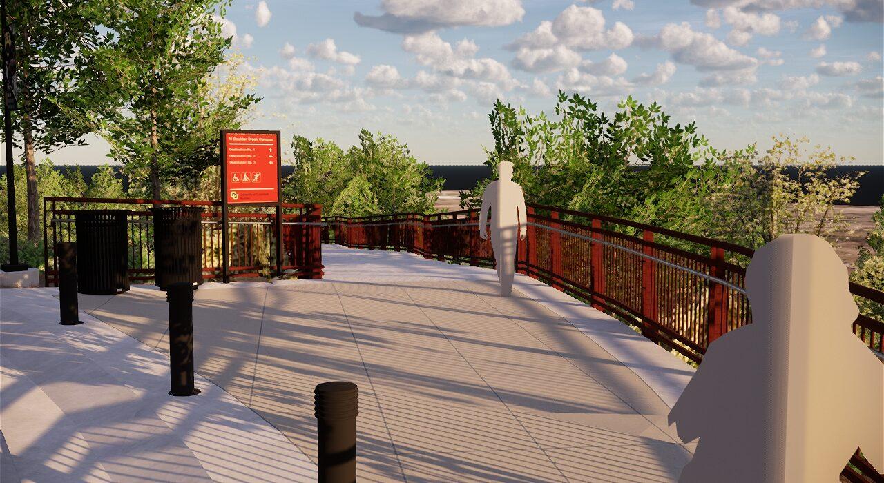 CU 19th Street Bridge Upper Landing
