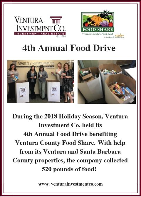 4th Annual Food Drive