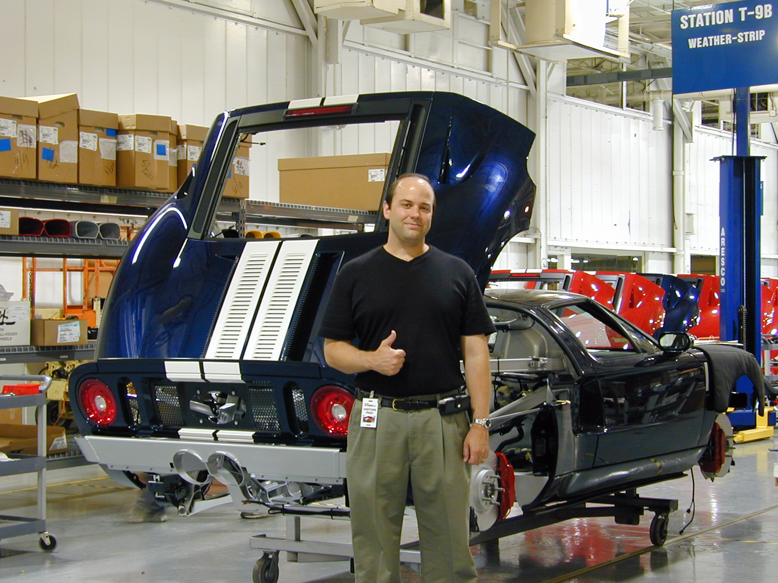 Ford GT Factory Tour Karl