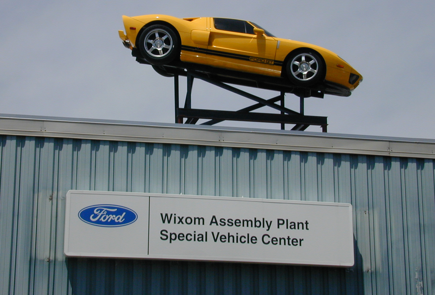 Ford GT Factory Tour Wixom Plant