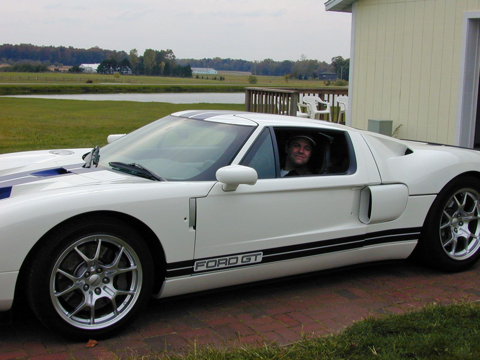 Ford GT First Drive Bill Ford Jr Car