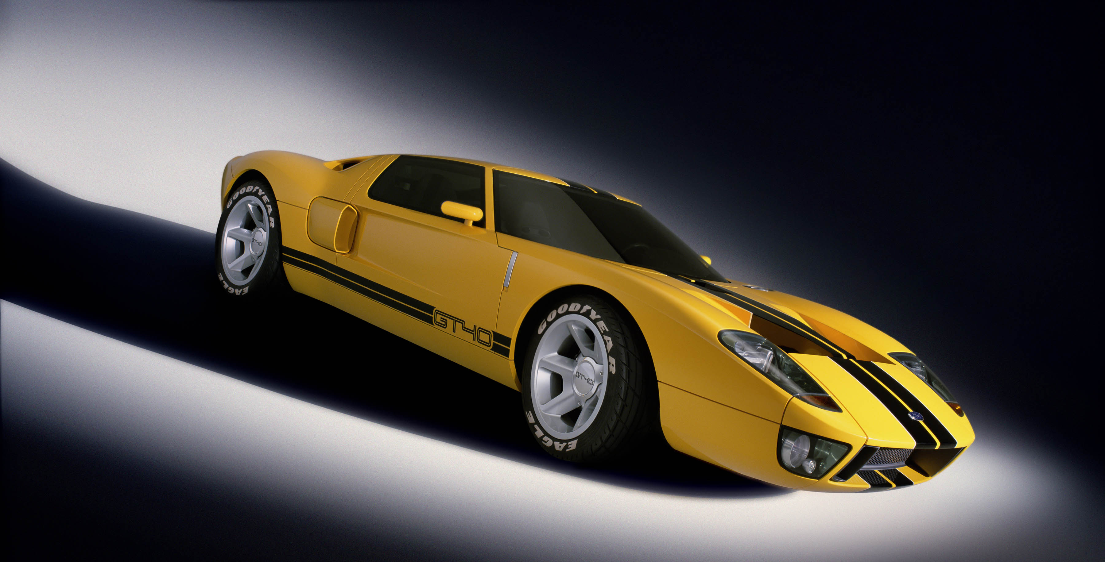 Ford GT40 Concept Yellow
