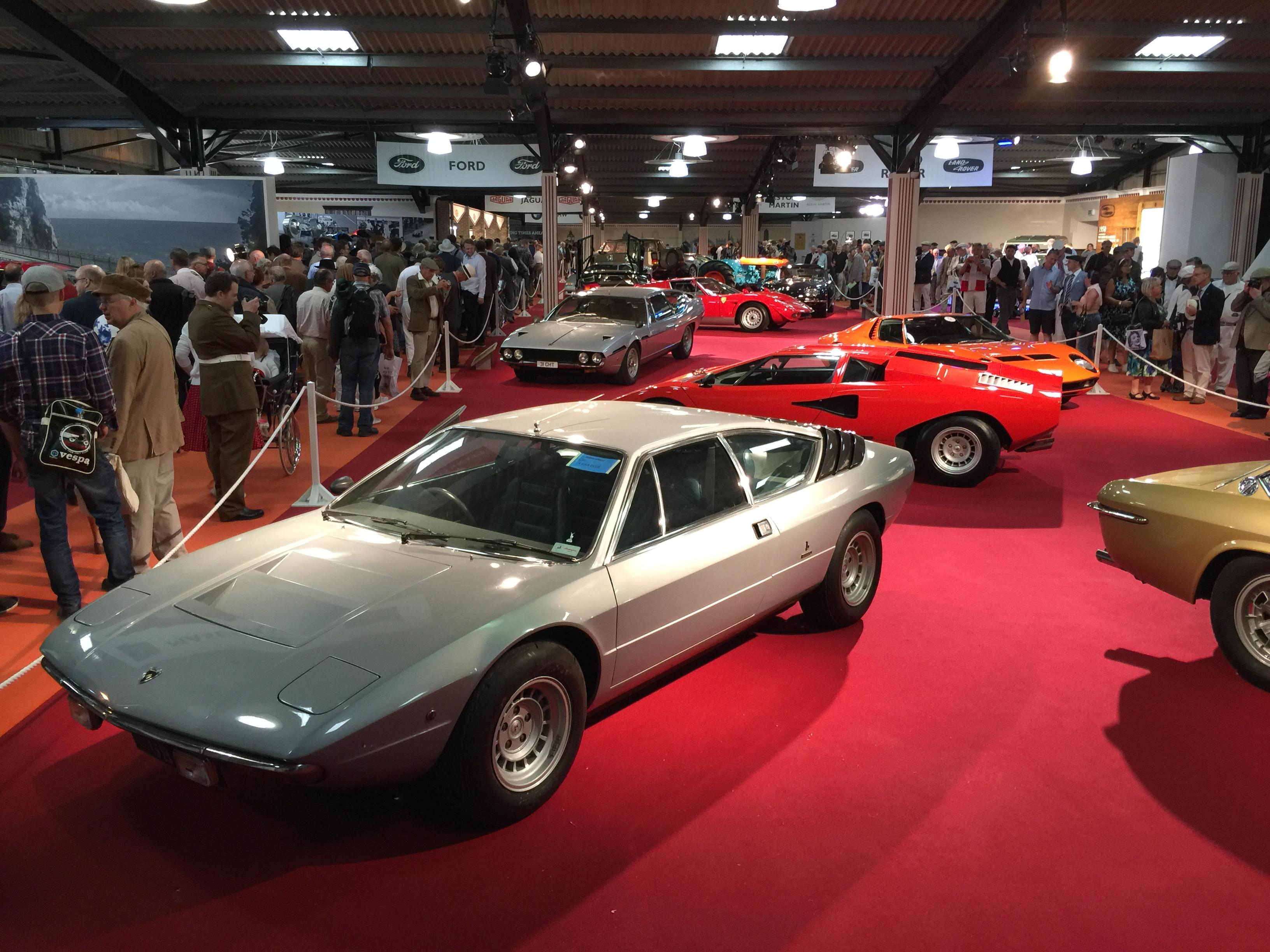 2016 Goodwood Revival Lamborghinis