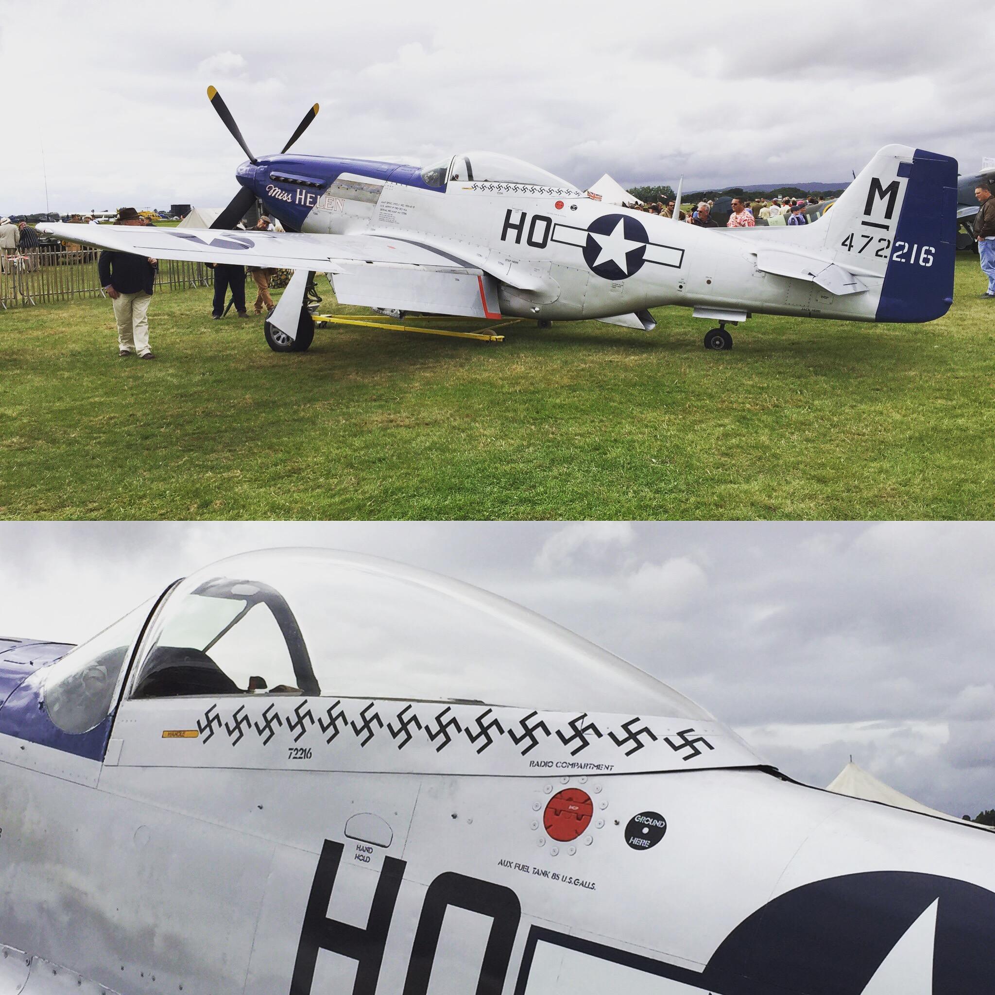 2016 Goodwood Revival World War 2 Plane