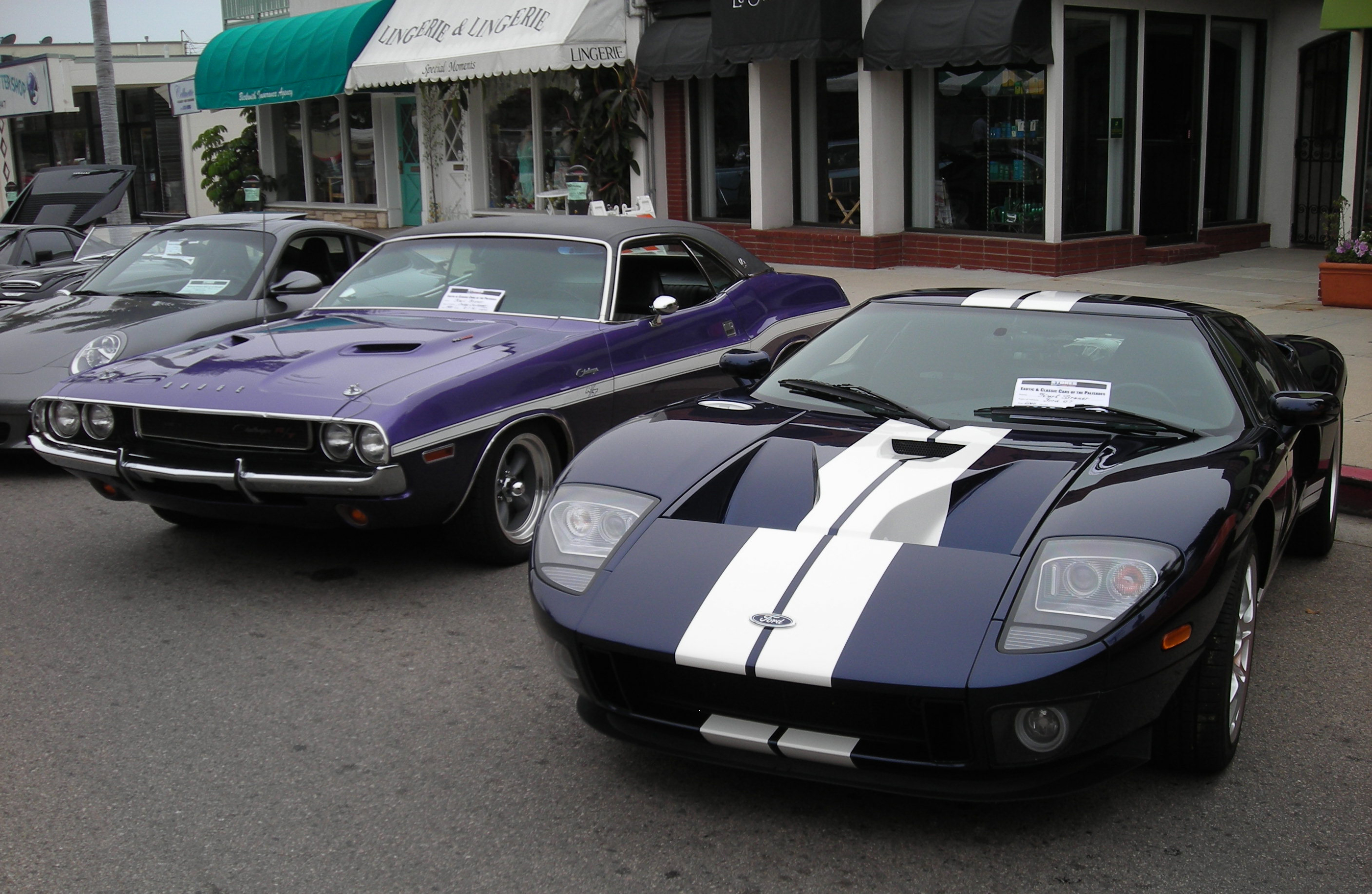 2005 Ford GT Long Term Pacific Palisades Car Show