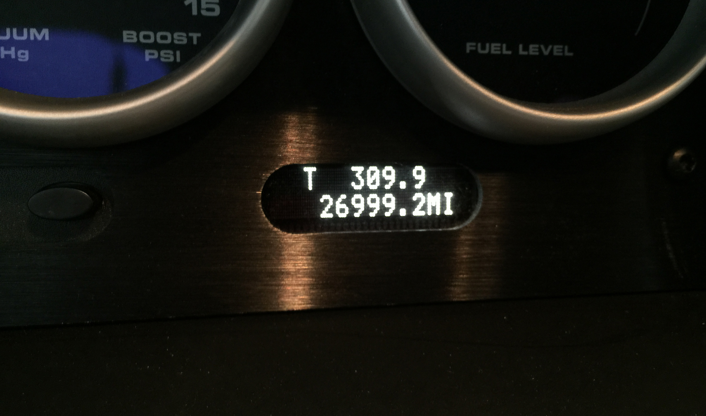 2005 Ford GT Odometer 27000