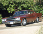 1970 Plymouth GTX Front Burnt Orange