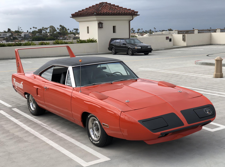 1970 Plymouth Superbird Front Orange