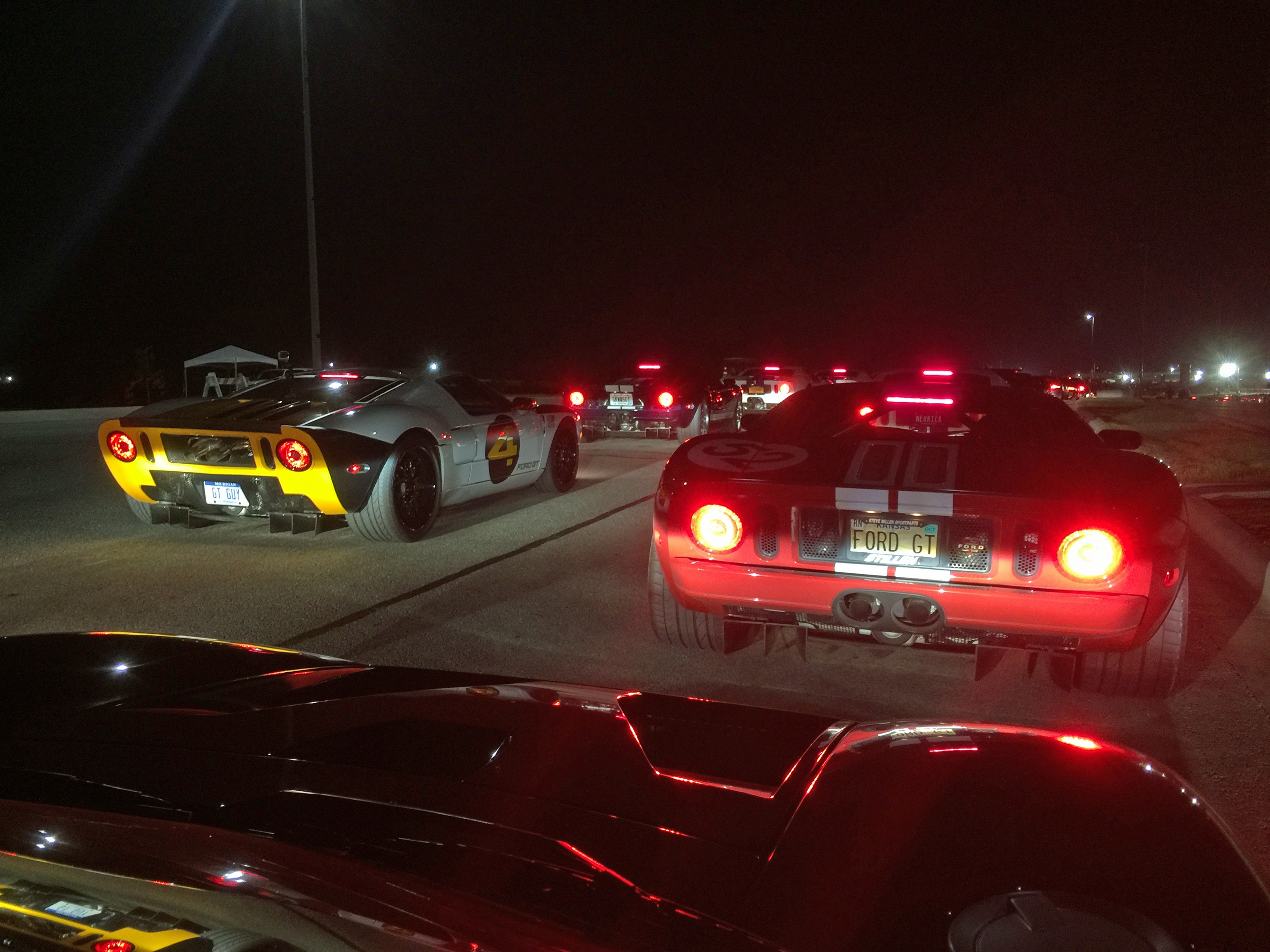 Ford GT Owners Rally 11 COTA Entry