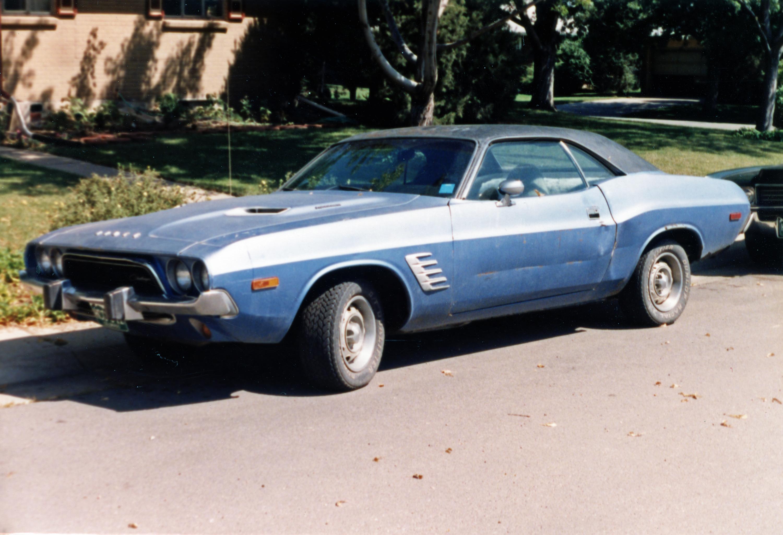 1973 Dodge Challenger Rallye Front