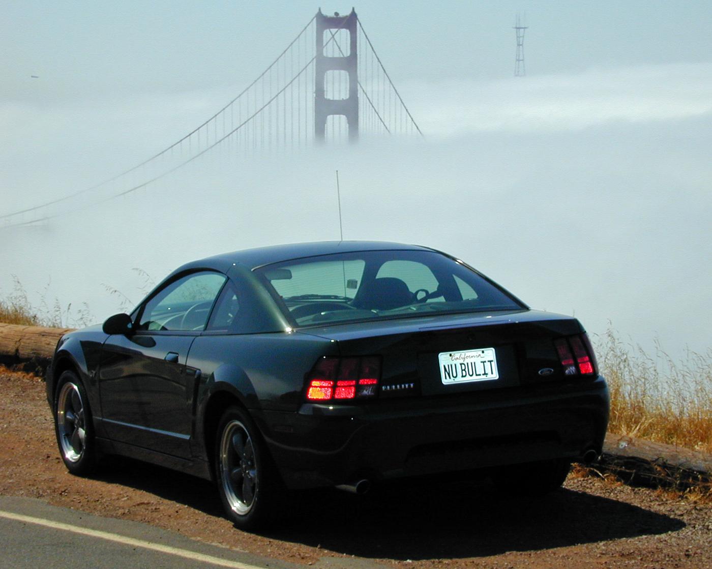2001 Ford Mustang Bullitt Fog