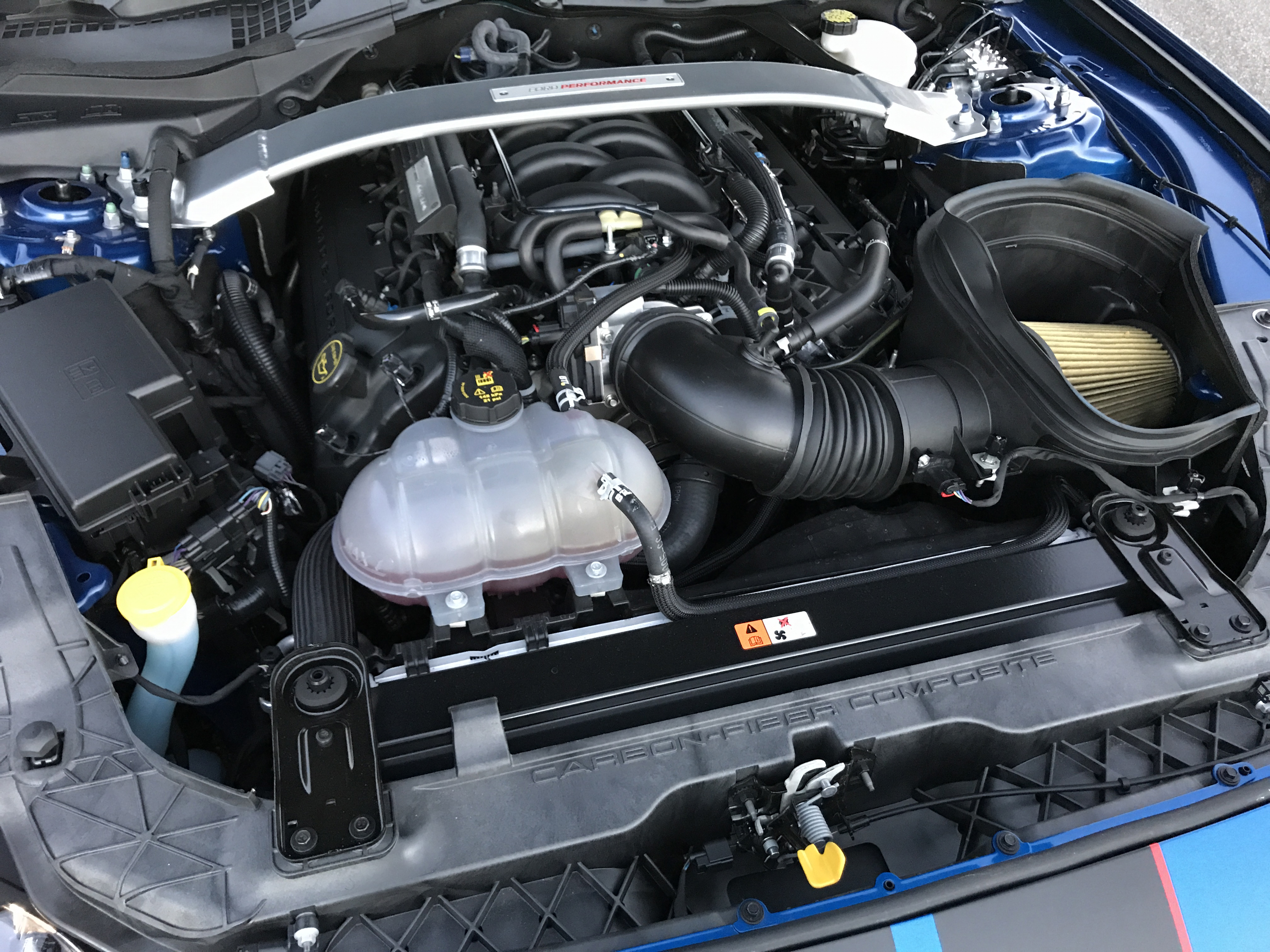 2017 Ford Mustang Shelby GT350R Engine