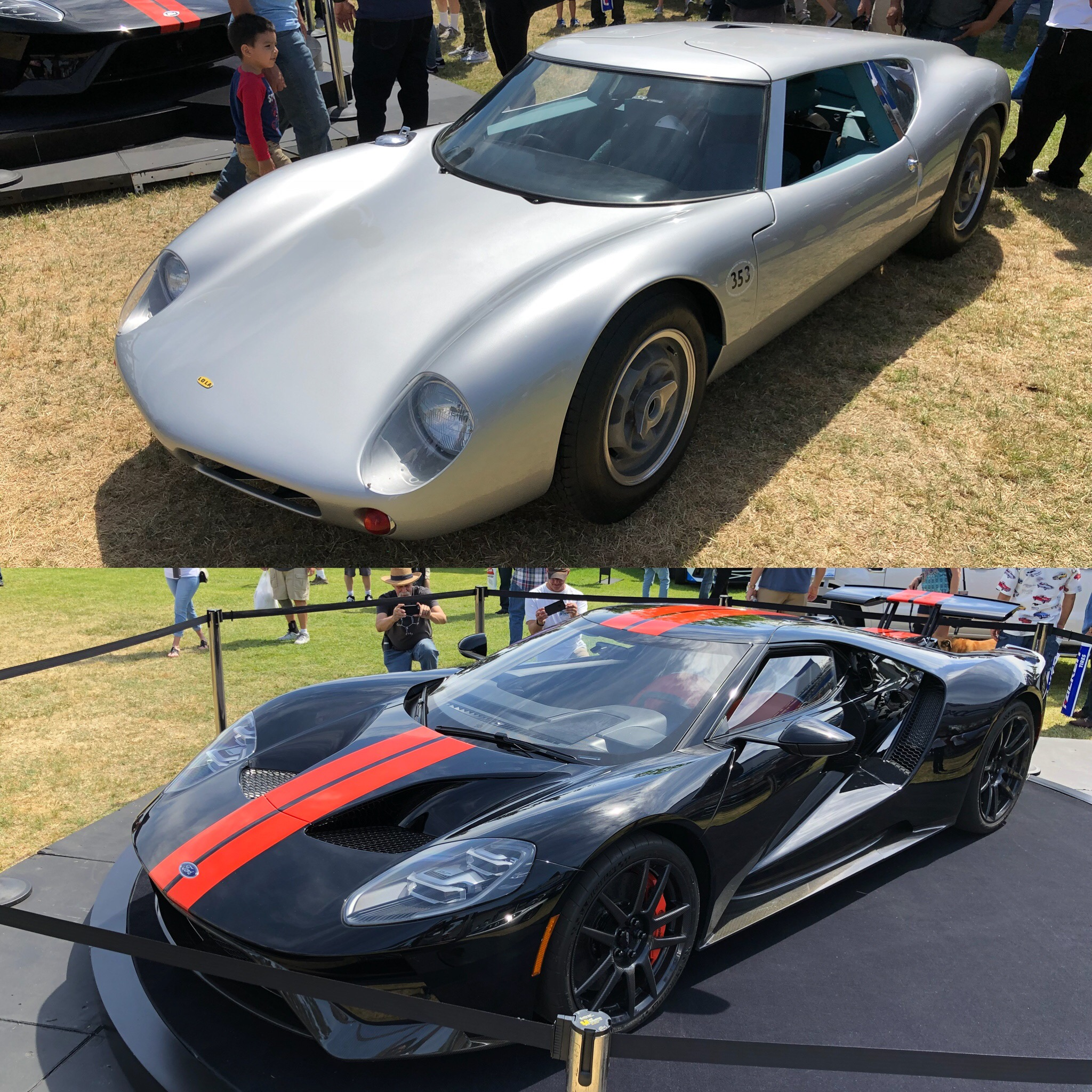 Fabulous Fords Forever 2018 New Ford GT Lola Mk6GT