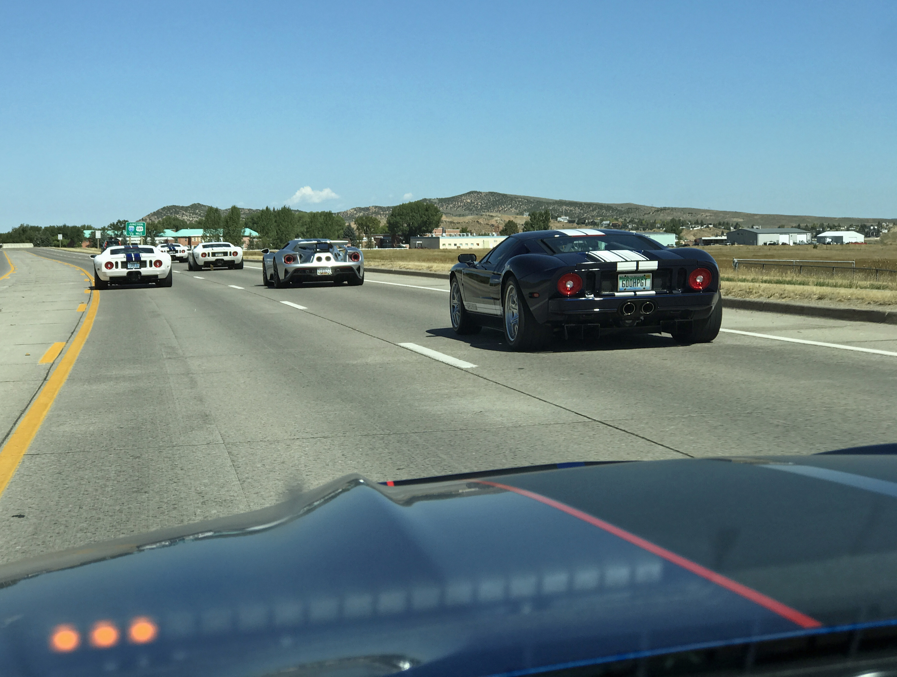 Ford GT Owners Rally Driving