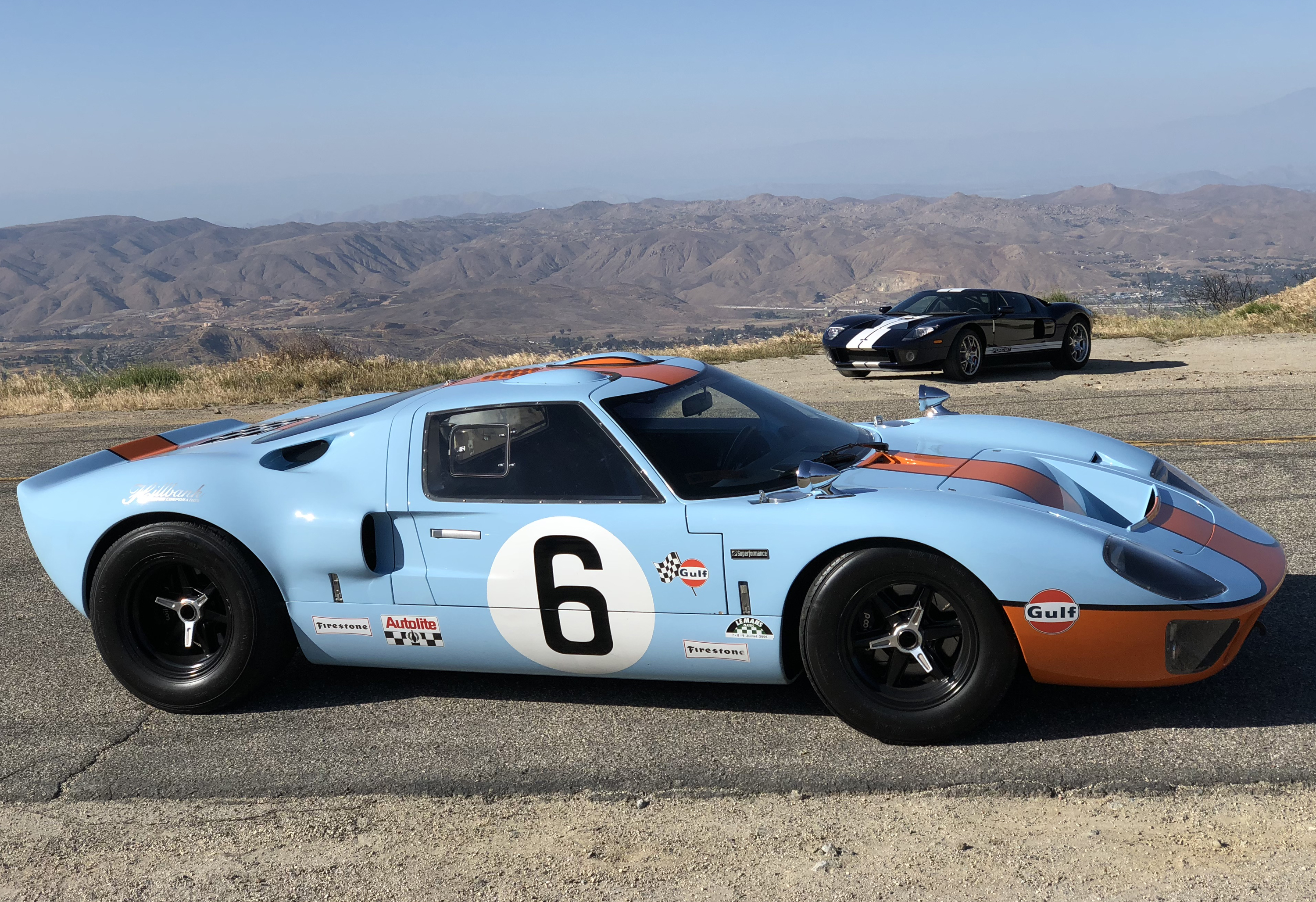Ford GT40 2005 Ford GT Comparison Shoot