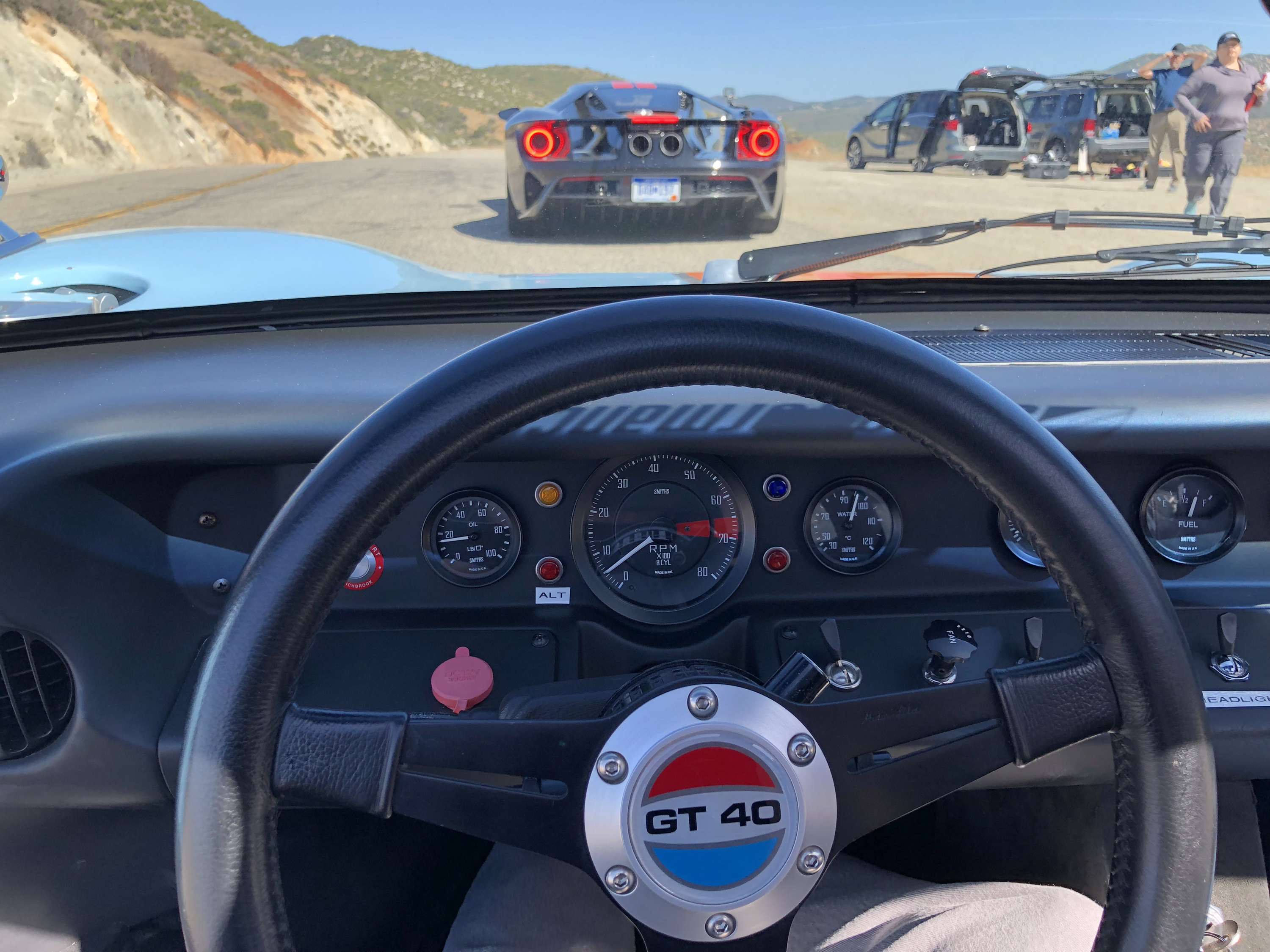Ford GT40 Steering Wheel Comparison Shoot
