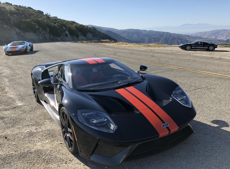 New Ford GT Black Orange Comparison Shoot