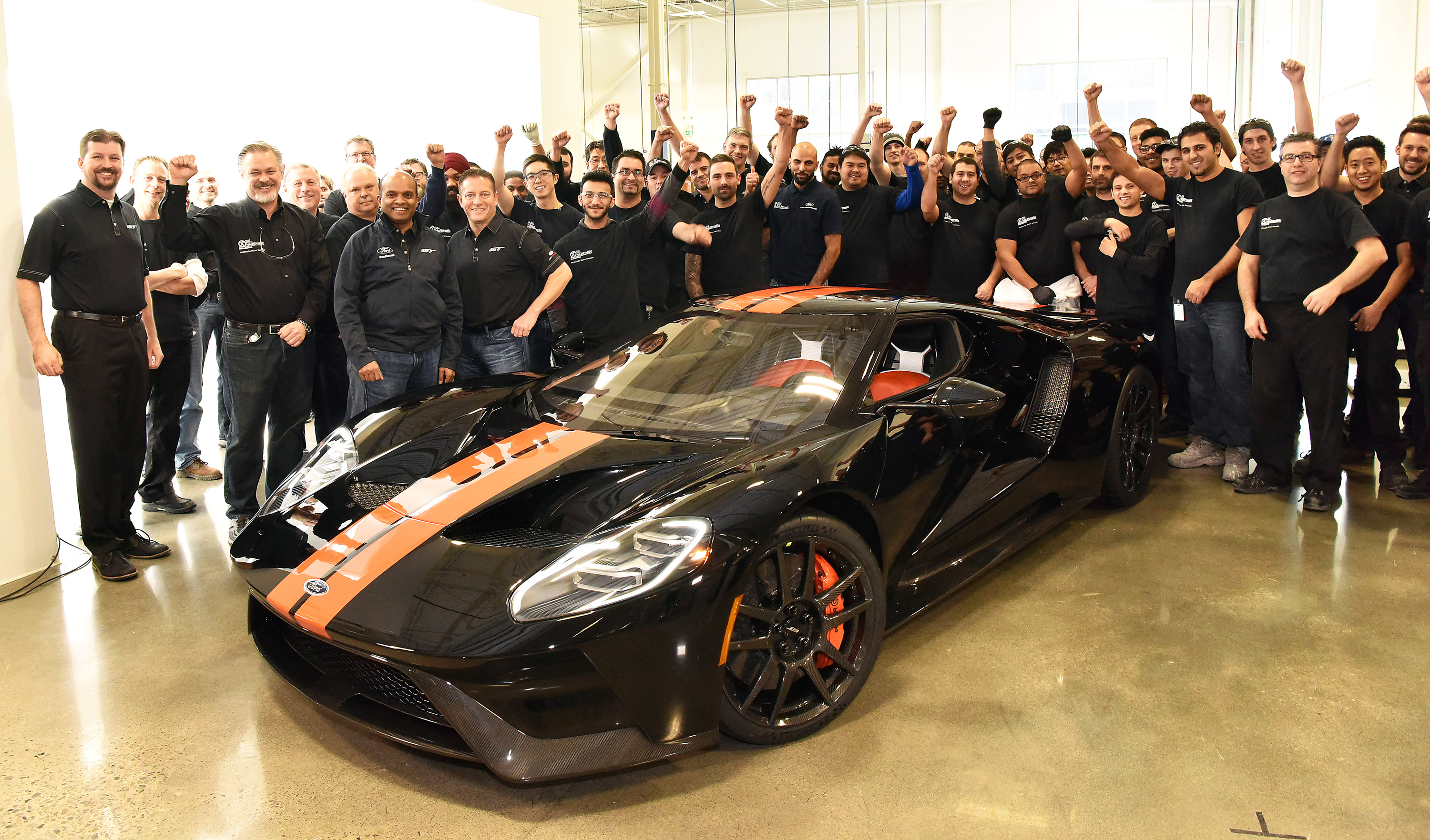 Ford GT Being Built at Multimatic in Canada