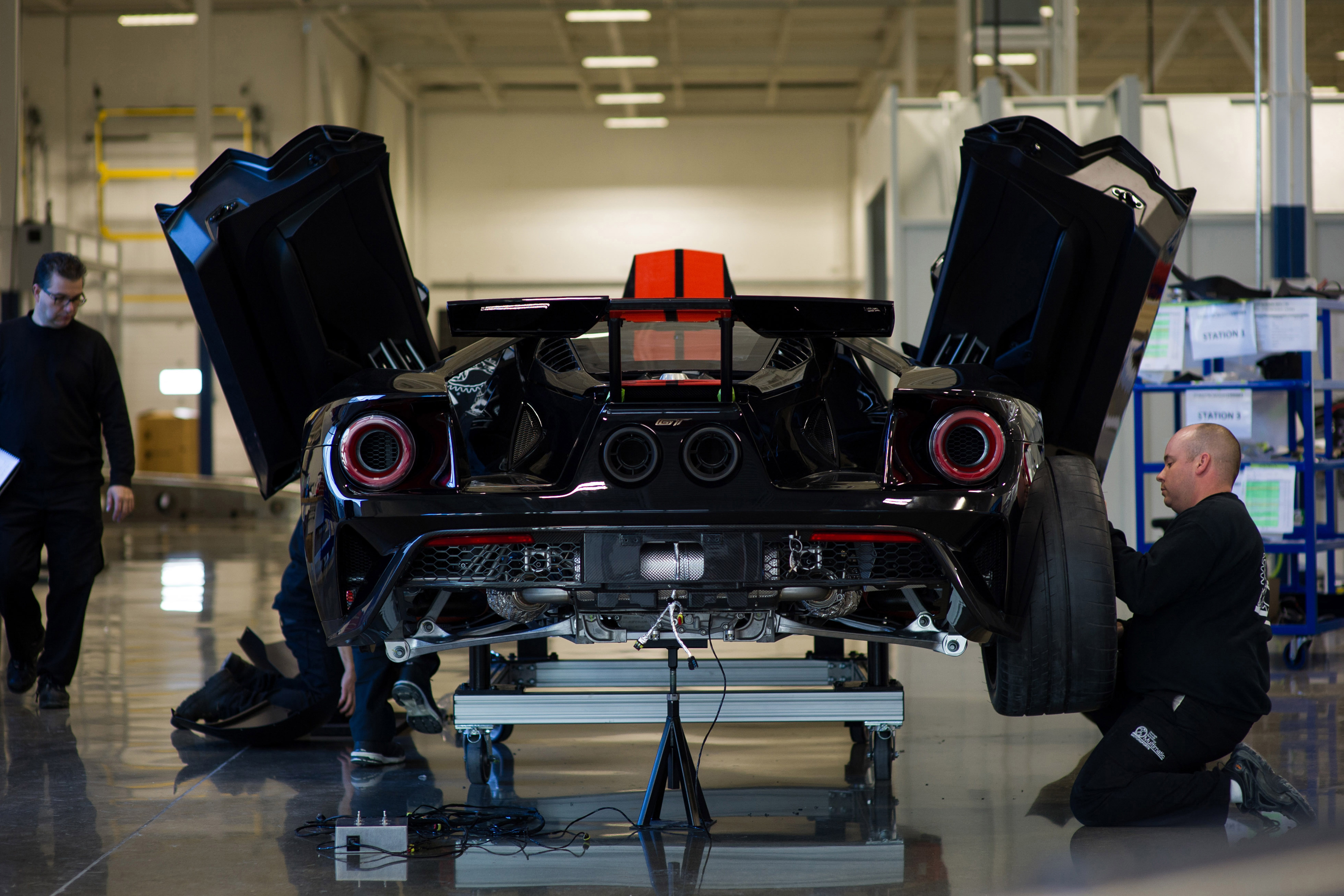 New Ford GT Job 1