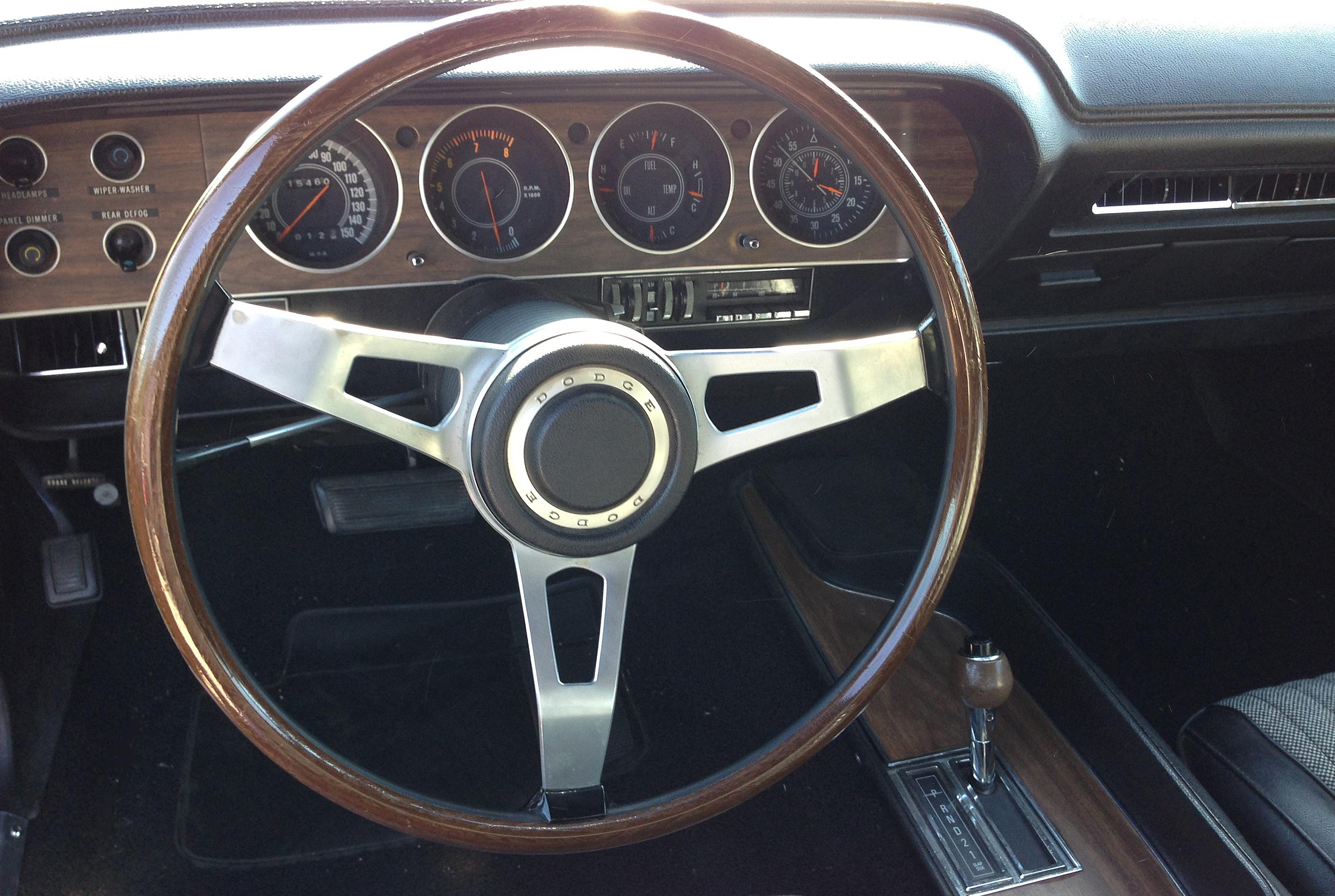 1970 Dodge Challenger RT Steering Wheel