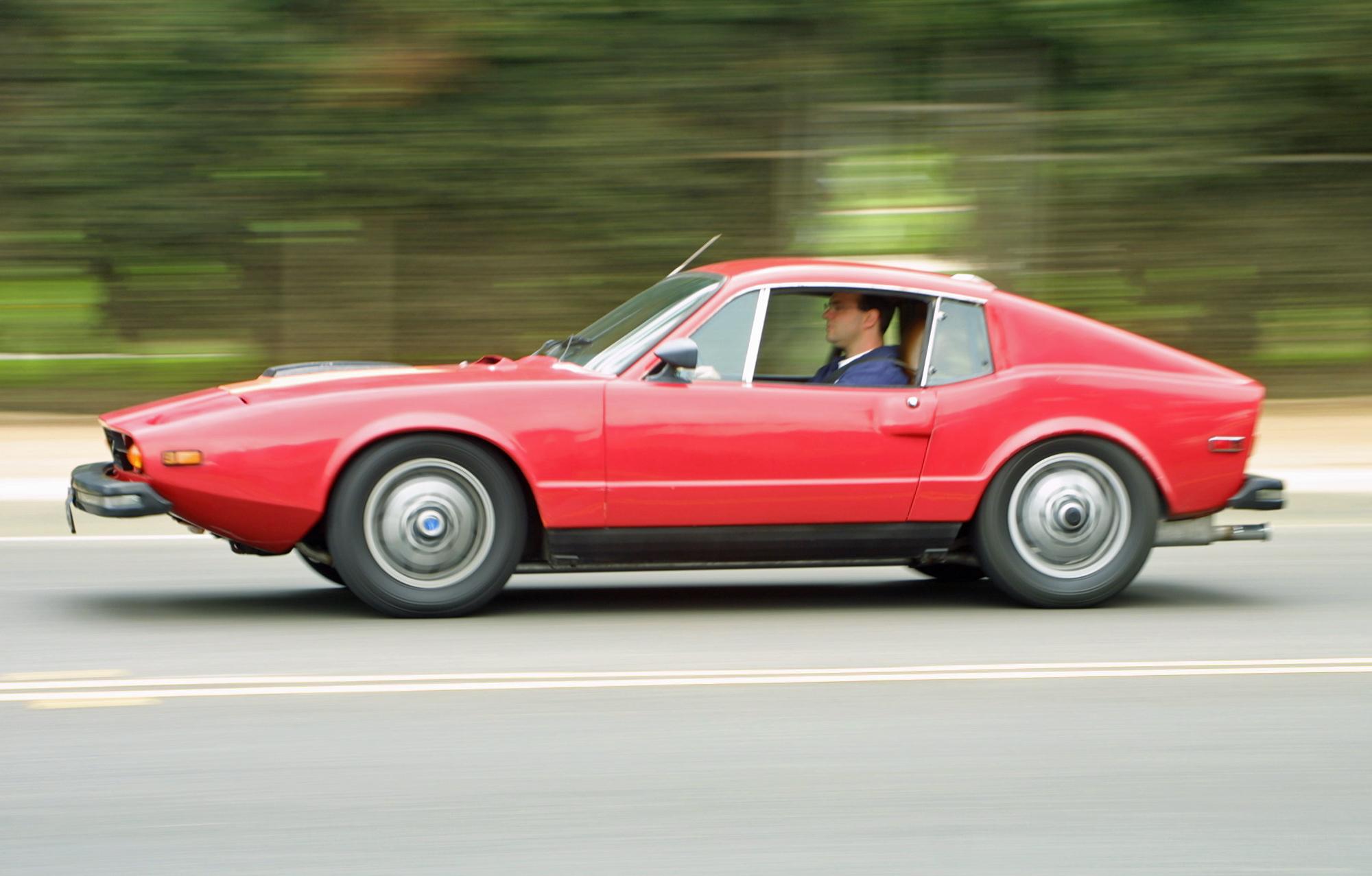 Saab Sonett Driving