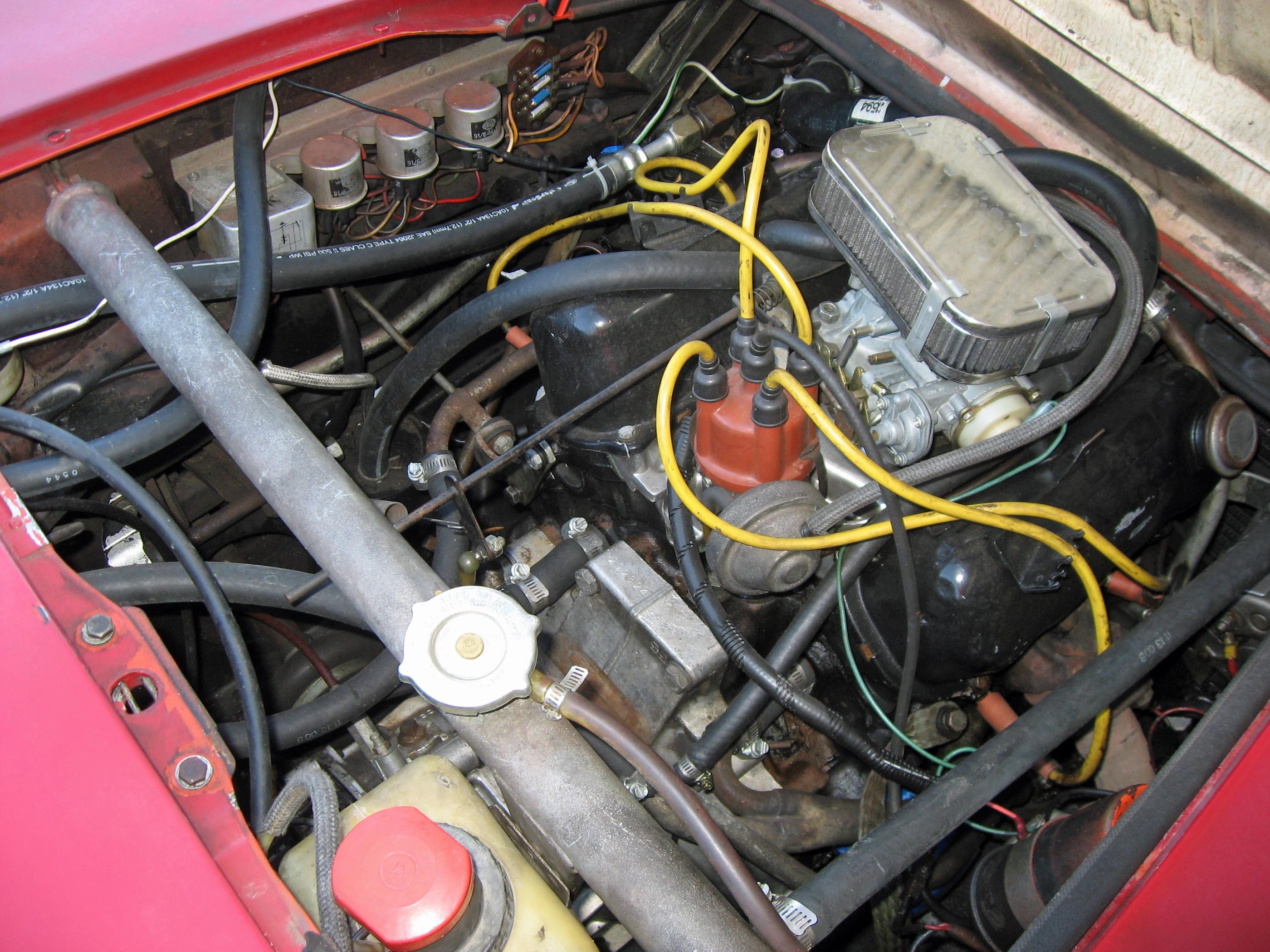 Saab Sonett Engine