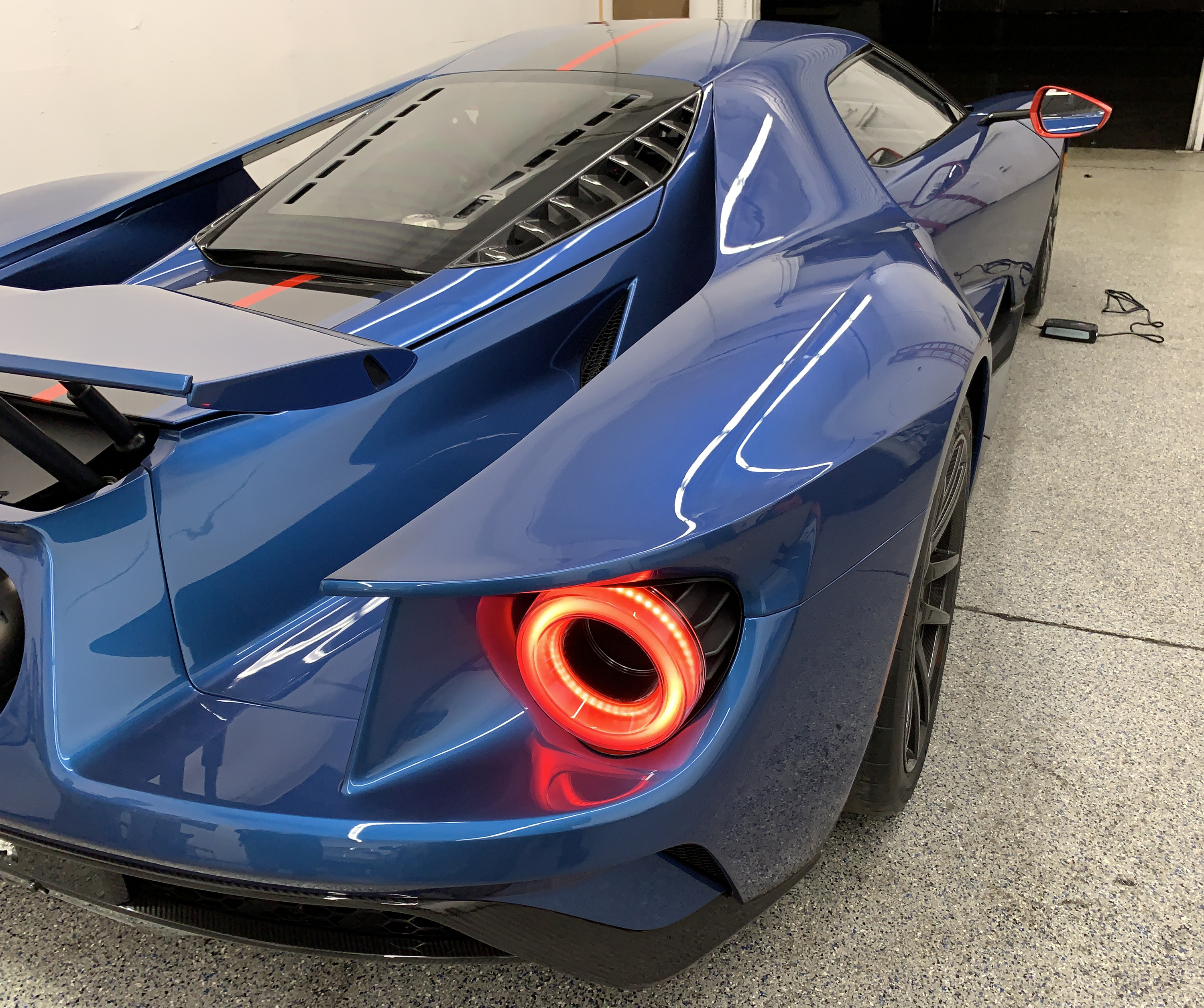 2019 Ford GT Carbon Series Rear Quarter Panel