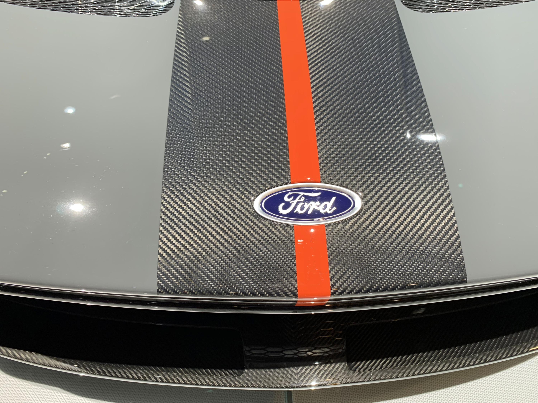 2019 Ford GT Carbon Series Carbon Fiber Stripes