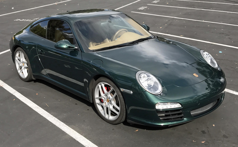 2009 Porsche 911 Carerra S Front Profile
