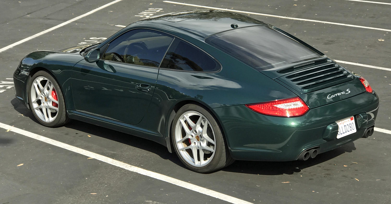 2009 Porsche 911 Carerra S Rear Profile
