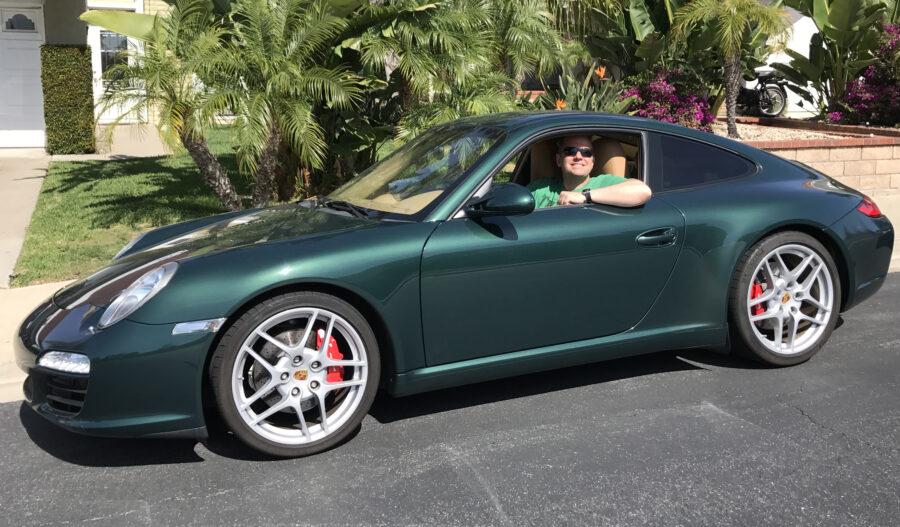 2009 Porsche 911 Carerra S St Patricks Day