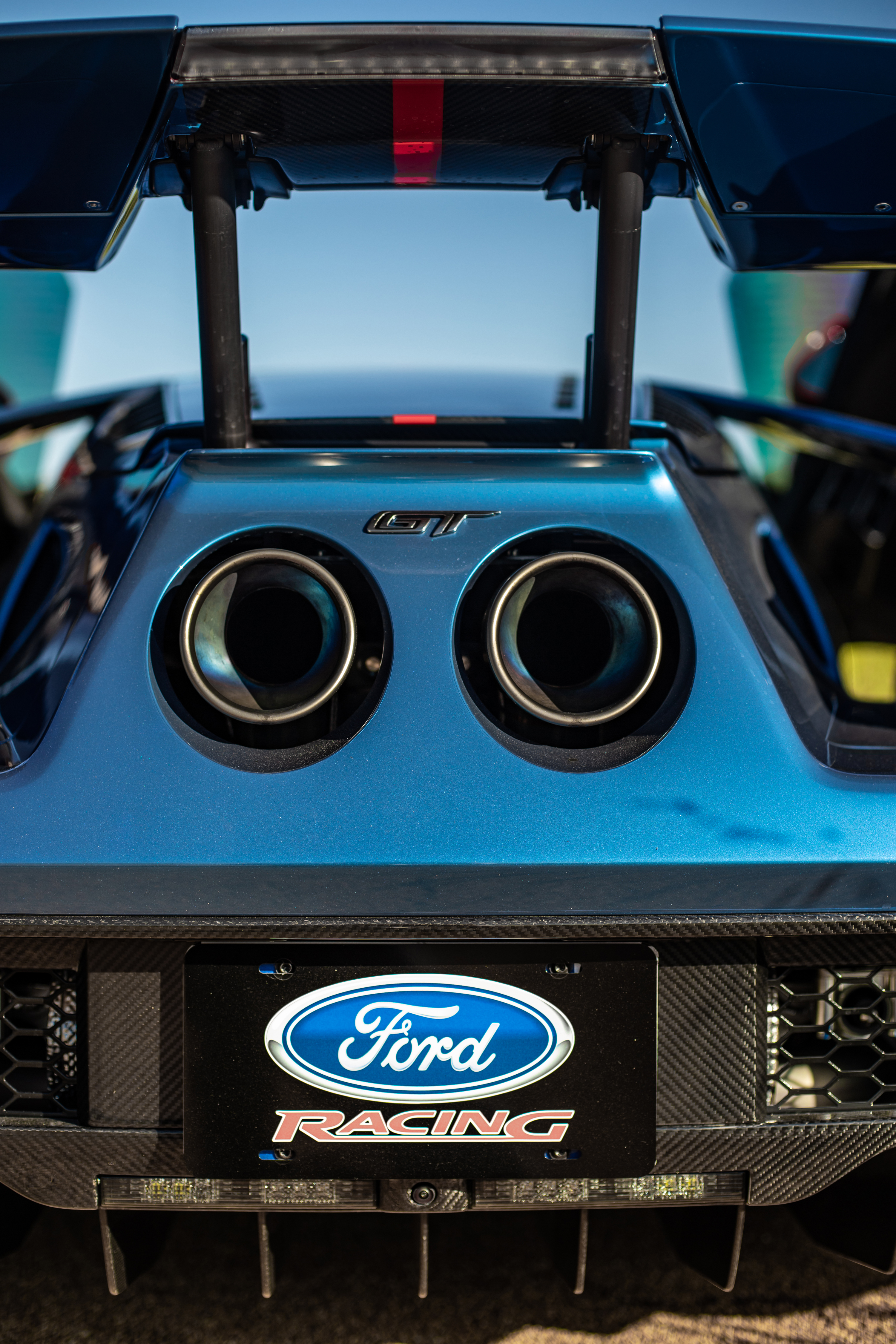 2019 Ford GT Carbon Series Exhaust Tips