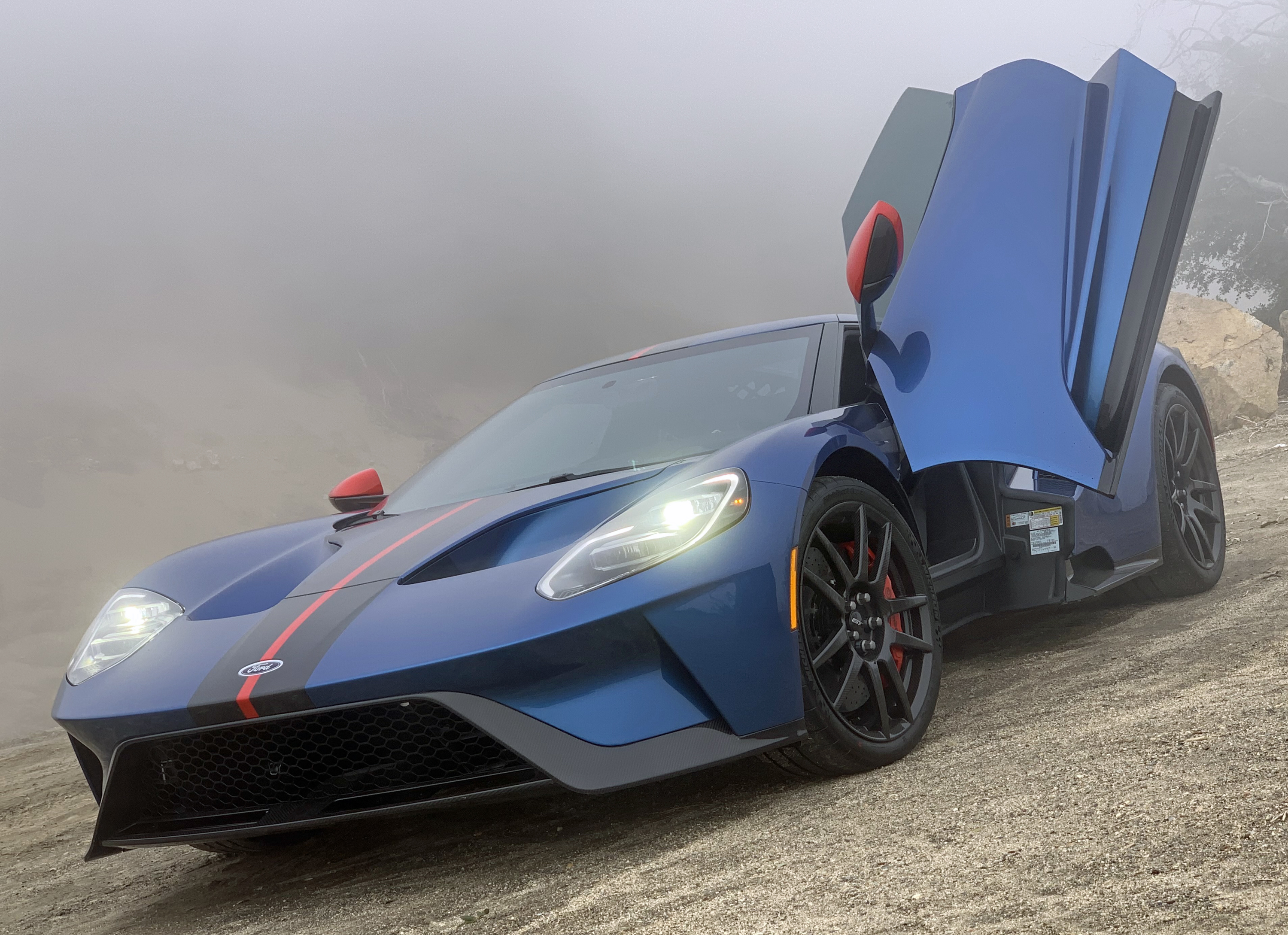 2019 Ford GT Carbon Series Palomar Front Fog