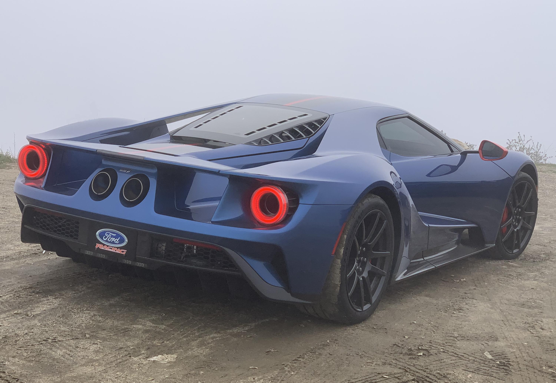 2019 Ford GT Carbon Series Palomar Rear Fog