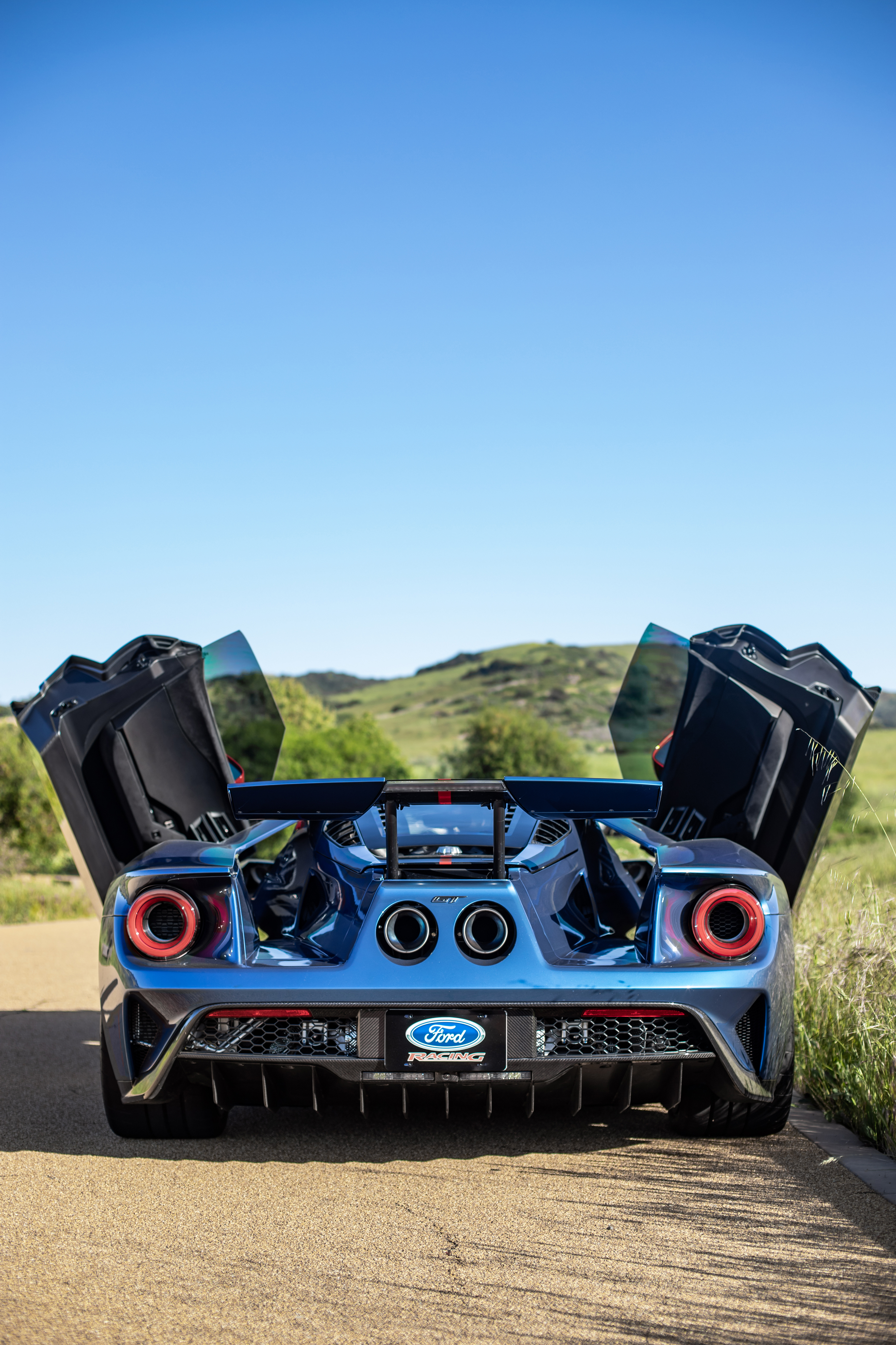 2019 Ford GT Carbon Series Rear Door Open laocexotics