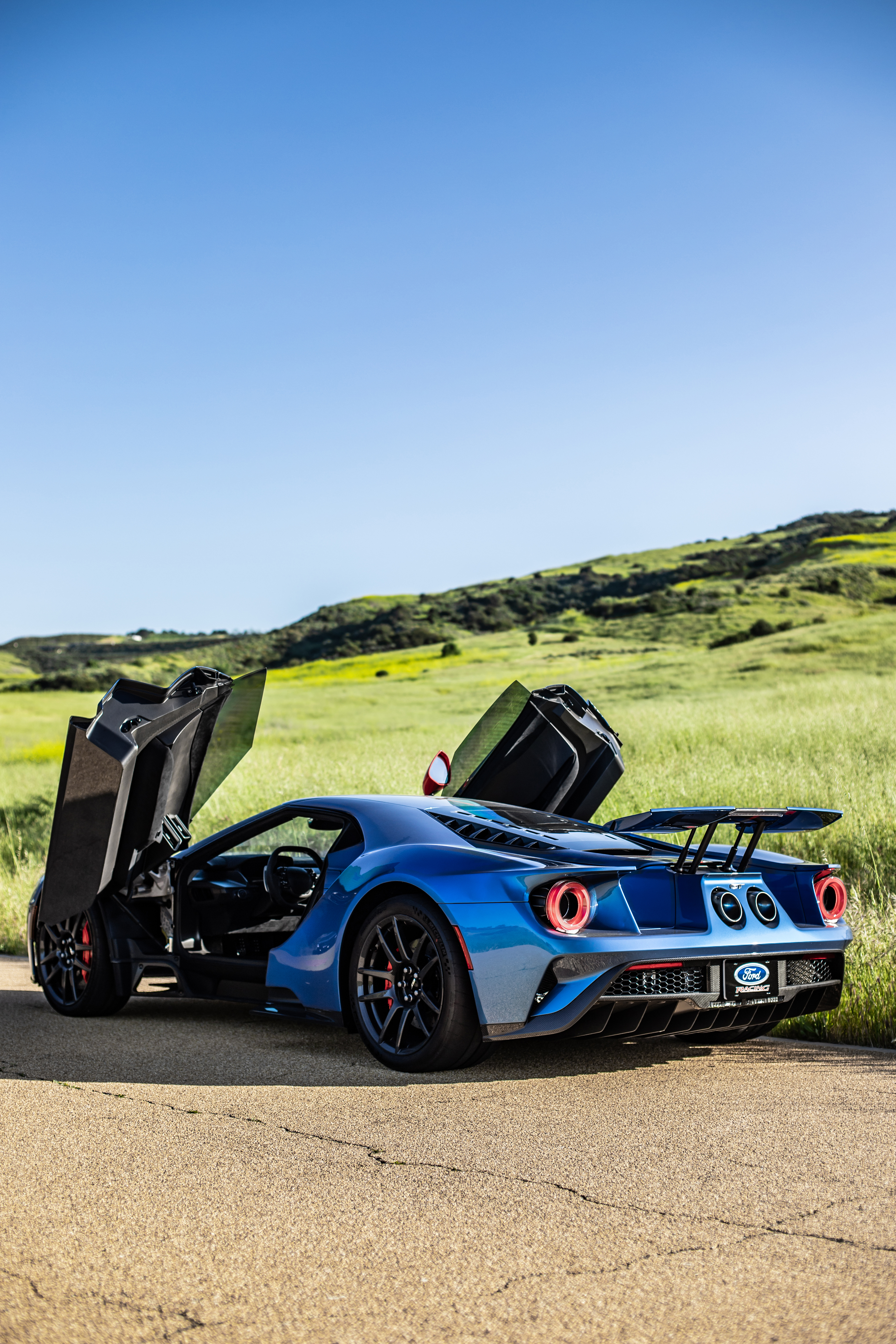 2019 Ford GT Carbon Series Rear Side Doors Open laocexotics
